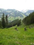 Hroznej kopec, kde i Peťas kousek tlačil