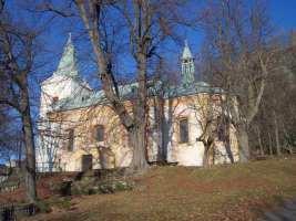 Andělská hora - kostel